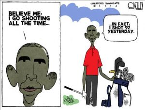 Obama's Shooting Lie