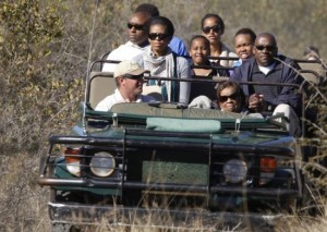 Michelle Obama's South Africa Vacation Cost Taxpayers over a half million dollars.
