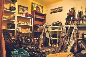 Over 100 Fast and Furious weapons were found in Mexico cartel enforcer's home