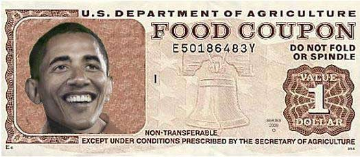 "Under Obama's ""Leadership"" 15% of U.S. Now Uses Food Stamps"