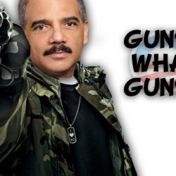Gun-Running, Liberal Racist, Eric Holder Won't Charge Black People With Crimes!