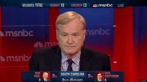 "Chris Matthews Is Sick of ""Thrill Up Leg"" Comments & Questions - Dispairages Gays"