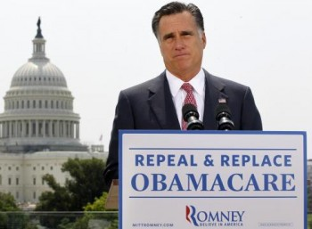 Help Romney Repeal Obamacare - Donate today!