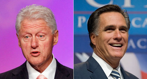 "Bill Clinton Puts High Praise On Romney & Bain Capital - Record Was ""Sterling"""