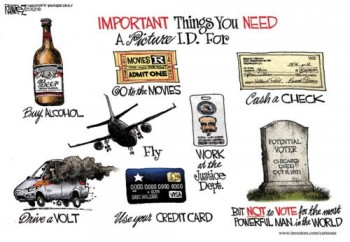 Voter ID Check Needed