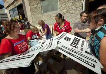 Selfish Chicagoland Teachers Intent on Bankrupting Schools Reject 16% Pay Raise - Go on Strike