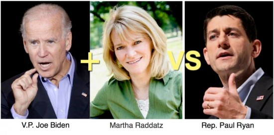 2 on 1: Martha Raddatz Teams Up With Biden Against Paul Ryan in Vice Presidential Debate - and Ryan STILL won.