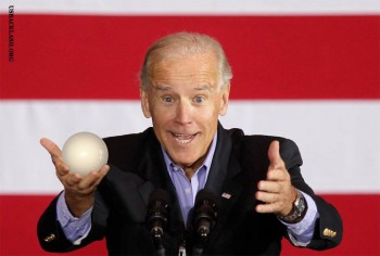 Brain-Dead Biden Asks Grieving Father About Size of Son's Balls - While Standing Next to Casket