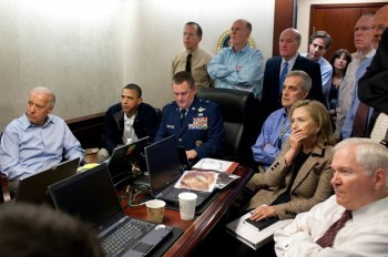 Obama Didn't Even Know About Bin Laden Raid - Notified on Golf Course as SEAL Team Entered Pakistan - Still wears golf shirt in photo-op