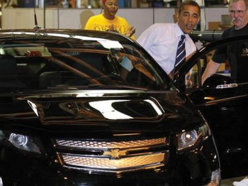 Chevy Volt Battery Manufacturer Received $150 Million from Obama - Now Furloughs Workers