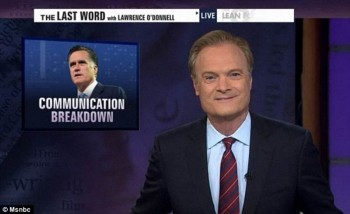 Unhinged & Laughable: MSNBC Host Lawrence O'Donnell Picks Fight With Tagg Romney