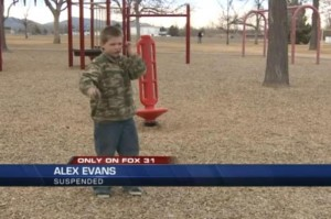 Second-grade student suspended for lobbing imaginary grenade