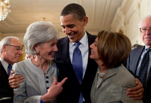 Health and Human Services Secretary Kathleen Sebelius admits that Obamacare will cause many people's health insurance costs to actually go up, despite the Obama administration, including Kathleen Sebelius, telling the American People that their rates would go down. Just another one of Obama's many lies.