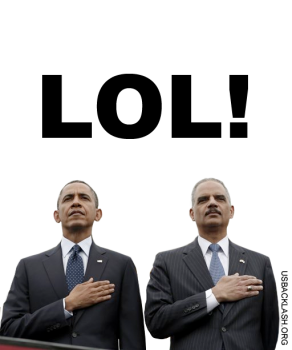 Criminals Obama and Holder may go down together.