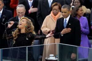 "Marines 'Hunker Down' Protecting Obama and Beyonce from Lip ""Syncgate"" FOIA Requests"