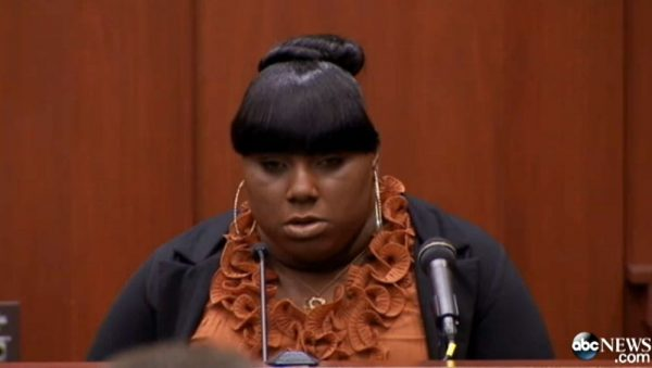 Illiterate Racist Druggie Liar Friend of Trayvon Martin, Rachel Jeantel, Can't Read Letter She 'Wrote'