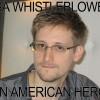 NSA Whistleblower Snowden Is Hero, Not Traitor