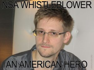 NSA Whistleblower Snowden Is Hero, Not Traitor