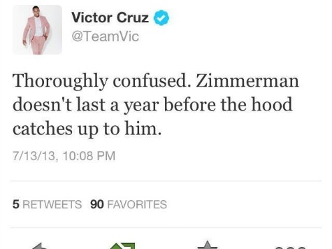 'Zimmerman Doesn't Last a Year Before the Hood Catches Up to Him'