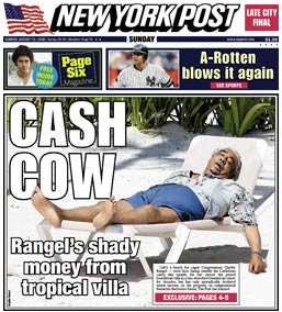 Corrupt and Racist Jackass Charlie Rangel