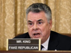 Fake Republican Wussy Rep. Peter King Unhappy About Phone Calls Supporting Defunding of Obamacare