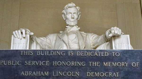 Braindead & Racist Democrat Liars Try Rewriting History - Claim Republican Abraham Lincoln was Democrat