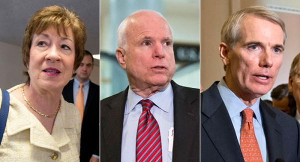 Fake Conservatives McCain, Hatch, Collins, Portman Again Vote With Democrat to Pass Budget - Even After Learning About Ryan Lies
