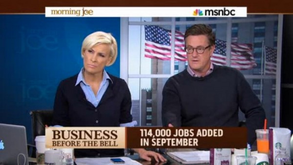 MSNBC's Fake Token Conservative Joe Scarborough Laughingly Considers 2016 Presidential Run