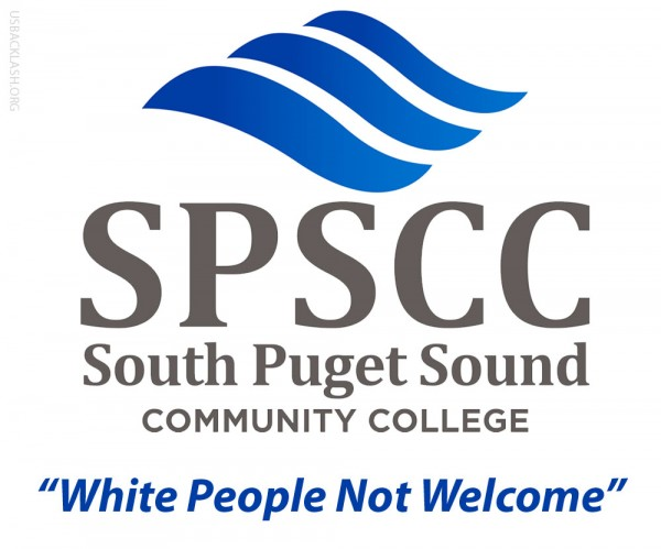 "Racist Employees of South Puget Sound Community College Exclude All Whites From ""Diversity Happy Hour"""