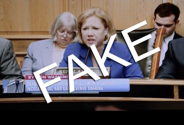 Democrat Senator Mary Landrieu Uses Fake Hearing Footage In Ad as Coverup Supporting 97 Percent of Obama Dangerous Policies