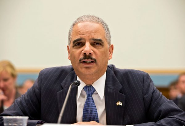 Corrupt Obama Stooge Eric Holder Doesn't Like Talking About Being Charged With Contempt in 2012