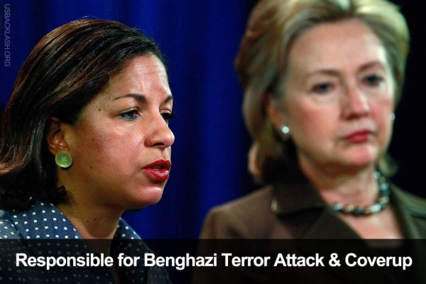 Obama's Untrustworthy National Security Adviser Scuzzball Susan Rice Casts Her Doubt on Benghazi Scandal Probe