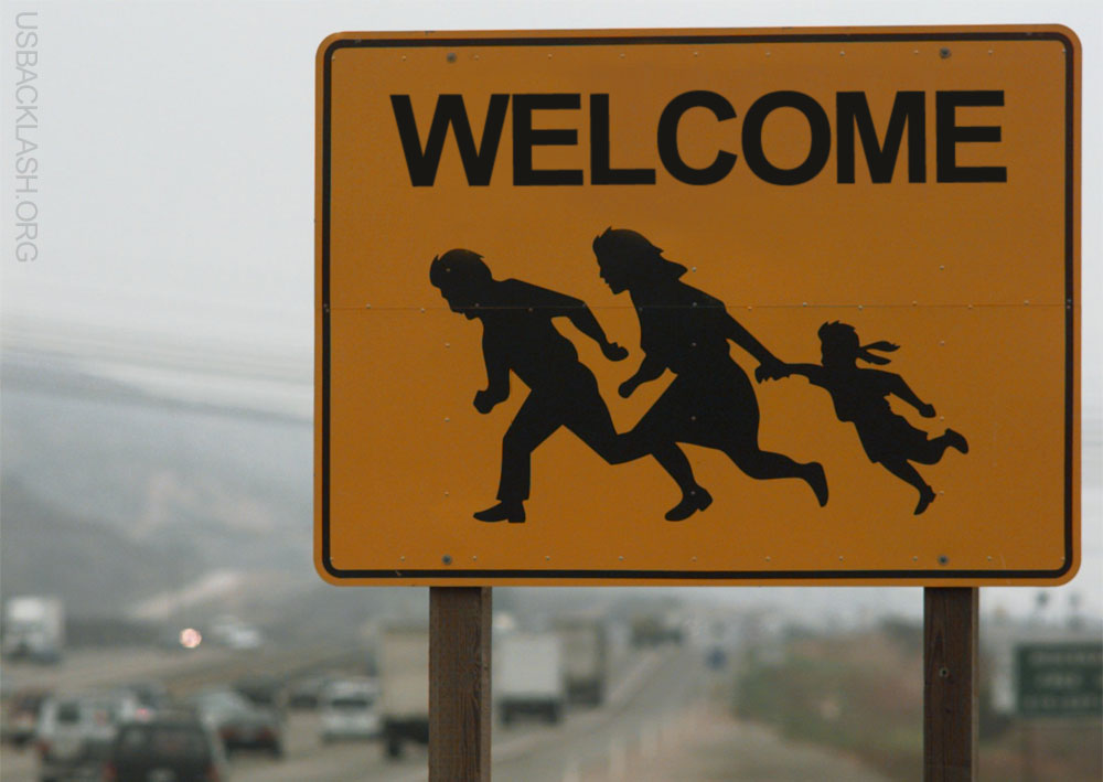 illegal immigration bliss to the immigrants Both the democratic party and republican party are using immigration as a bliss' group ran tv ads attacking which put illegal immigrants who commit.