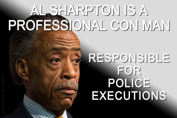 Race Hucksters Sharpton, de Blasio, Holder All Reponsible for Murders of Police - Sure to Spread