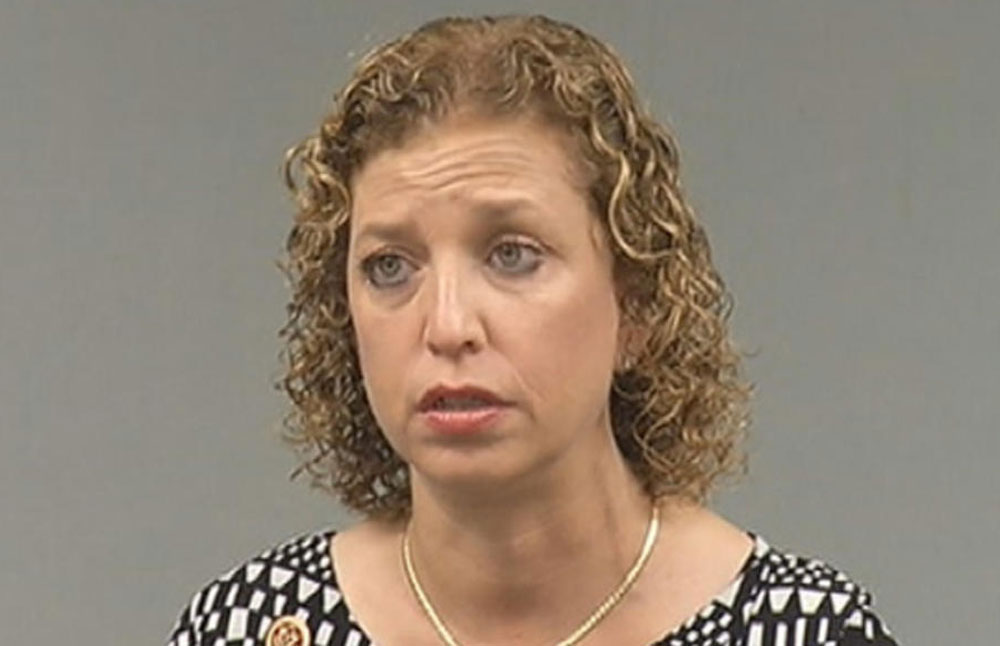 Debbie Skankerman Schultz, Democrats Protect Criminal Hillary Clinton From Damaging Debate Questions
