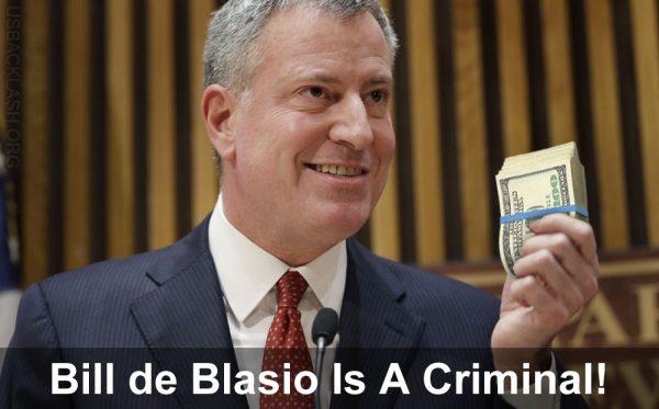 Corrupt NYC Mayor Bill de Blasio Declares Confidants Exempt From Public Disclosure Laws In Major Cover-Up of de Blasio Crimes