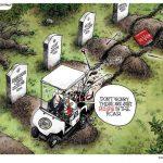 Obama-Bumps-In-Road-Cartoon