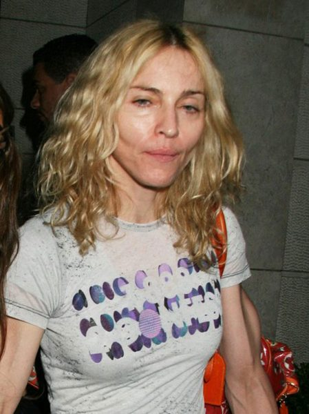 Disgusting Dinosaur Whore Madonna Offers Blowjobs & Swallowing For Hillary Clinton Voters