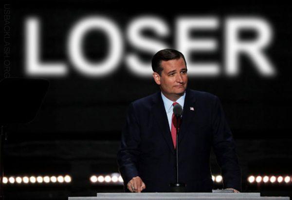 Untrustworthy Loser Ted Cruz Kills Own Career By Not Honoring Signed Pledge & Acting Like Petulant 3rd Grader
