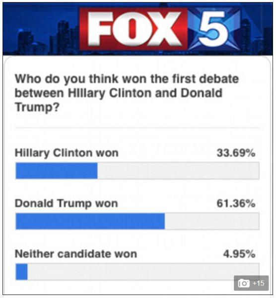 poll first debate