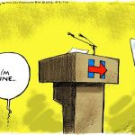 deathly-sick-hillary-clinton-claims-im-fine-after-falling-flat-on-face-cartoon