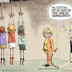 clinton-war-on-women-hillary-attacks-bill-clintons-rape-sexual-assault-victims-cartoon