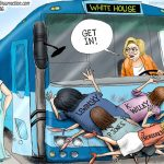 hillary-clinton-throws-all-women-under-bus-except-fake-machado-plant-setup