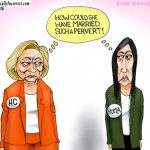 hillary-clinton-huma-how-could-she-marry-pervert-cartoon