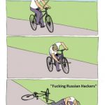 Democrats-Fuck-Themselves-In-Election-Then-Blame-Russian-Hackers-Cartoon