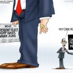 weak-lame-duck-obama-feels-ignored-maga-cartoon