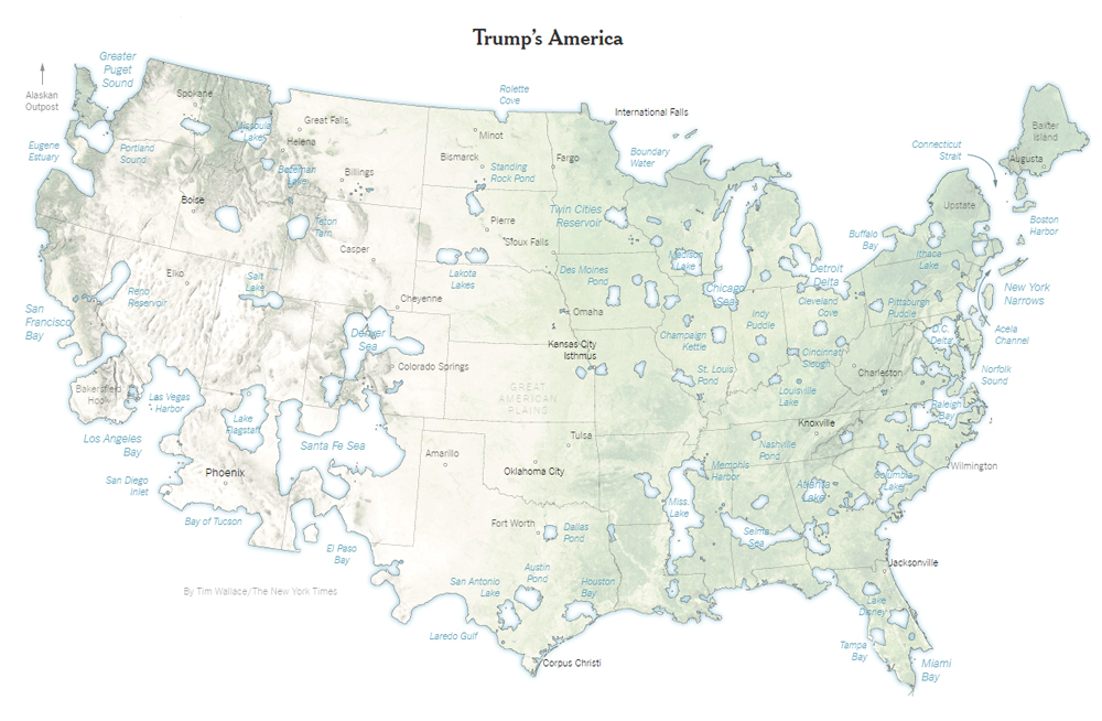trump won the vast majority of the united states including 80 percent of the nation s counties