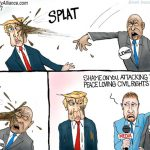 stupid-racist-illegitimate-congressman-john-lewis-attacks-trump-cant-handle-response-cartoon