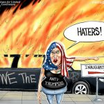 Hateful-Libtard-Anti-Trump-Terrorists-Cartoon