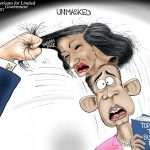 susan-rice-committing-serious-crimes-for-obama-hillary-democrats-cartoon